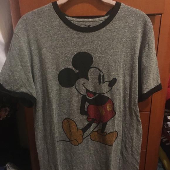Disney Other - Men's Disney Mickey Mouse Ringer Tee